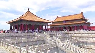 A visit to the Forbidden City 紫禁城 in BeiJing