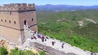 Video : China : The JinShanLing 金山岭 to SiMaTai 司马台 Great Wall hike