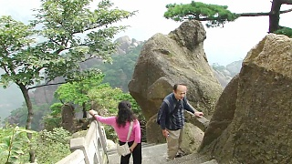 Video : China : The beautiful HuangShan 黄山 Mountain, part 2 (5/7)