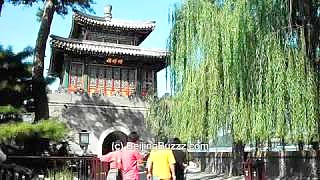 BeiHai Park 北海公园, BeiJing 北京 : ten scenes. Filmed in October 2010