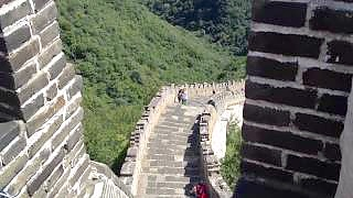 MuTianYu 慕田峪 Great Wall 长城 trip. Near Beijing.    Filmed in 2012 ...