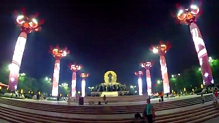 Video : China : An evening stroll in Xi'An 西安, ShaanXi province