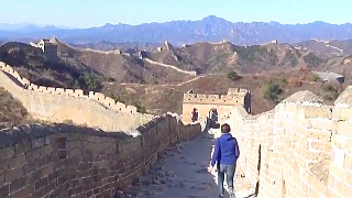 A late autumn trip to the Great Wall 长城 of China