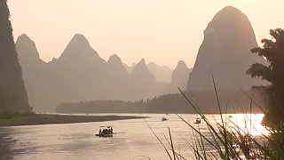 The beautiful YuLong River 玉龙河, GuangXi province