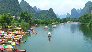 Video : China : YangShuo 阳朔 : beautiful scenery - video