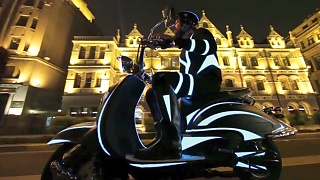 Video : China : ShangHai 上海 night rider - video