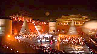 Jean-Michele Jarre at the Forbidden City, BeiJing – video