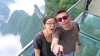 A trip to TianZiShan 天子山 and TianMenShan 天門山, ZhangJiaJie