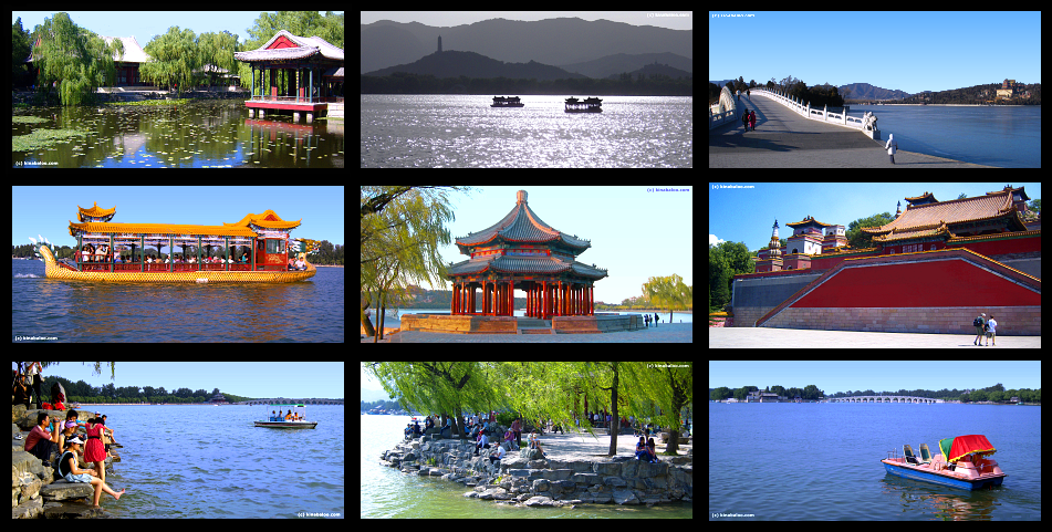 Panoramic Photographs of the Summer Palace