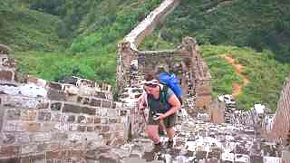 Video : China : Great Wall 长城 hiking