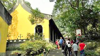 Video : China : LingYin Temple, XiXi Wetland Park and FuDi village, HangZhou 杭州