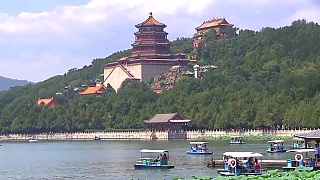 The beautiful Summer Palace 頤和園 in BeiJing