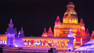 Scenes from the Harbin 哈尔滨 Snow and Ice Festival