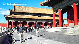 Forbidden City 紫禁城 scenes, BeiJing – video