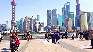 The beautiful Bund waterfront, ShangHai 上海