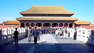 The beautiful Forbidden City 紫禁城 in BeiJing