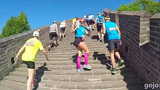 The Great Wall 长城 of China Marathon, May 2015 and 2016