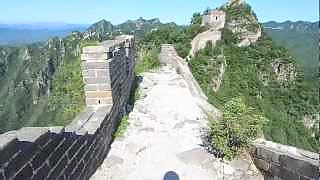 The Great Wall of China at JianKou 箭扣, BeiJing