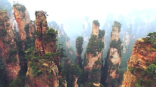 Video : China : ZhangJiaJie 张家界 Forest Park