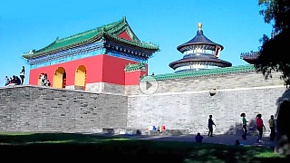 Video : China : The Temple of Heaven 天坛, BeiJing - video