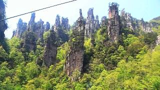 Beautiful ZhangJiaJie 张家界 and TianMenShan 天門山