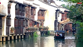 The beautiful water-town of WuZhen 乌镇